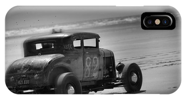 Hot Rods At Pendine 12 IPhone Case