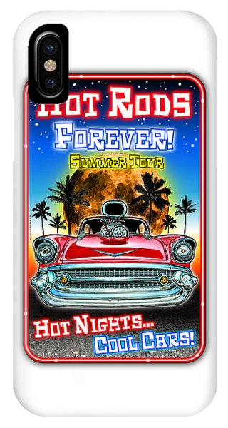 Hot Rods Forever Summer Tour IPhone Case