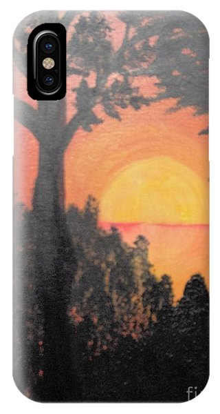 IPhone Case featuring the painting Hot by Saundra Johnson