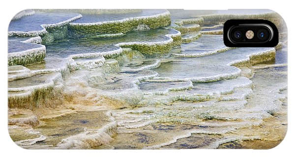IPhone Case featuring the photograph Hot Springs Runoff by Gary Lengyel