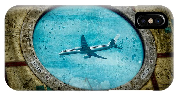 IPhone Case featuring the photograph Hot Tub Flight by Harry Spitz