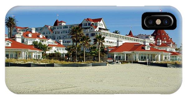 Hotel Del Coronado Beach IPhone Case
