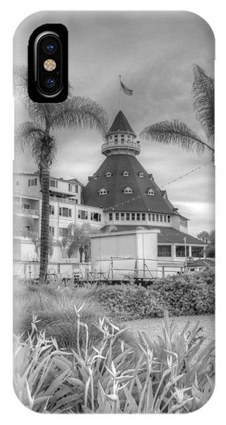 Coronado iPhone Case - Hotel Del Coronado by Jane Linders