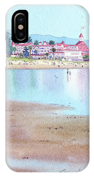 Hotel Del Coronado Low Tide IPhone Case