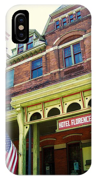 Hotel Florence Pullman National Monument IPhone Case