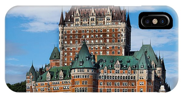 Quebec City iPhone Case - Chateau Frontenac In Quebec City by David Smith