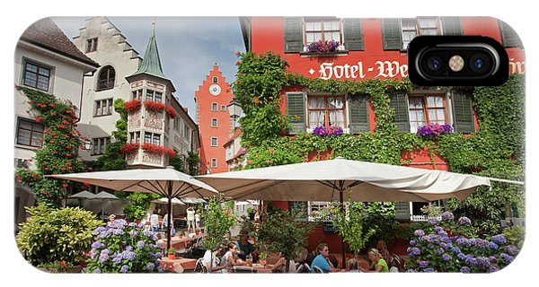 Hotel Lowen-weinstube IPhone Case
