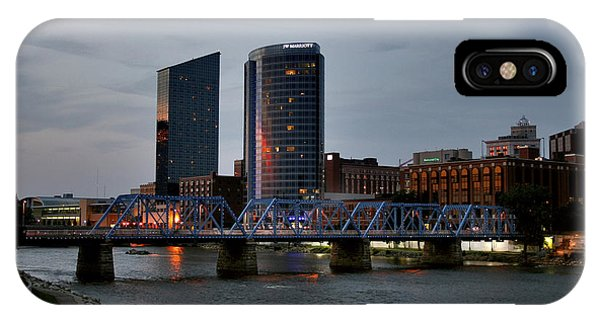 Hotels On The Grand River IPhone Case