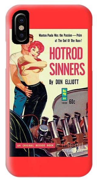 Hotrod Sinners IPhone Case
