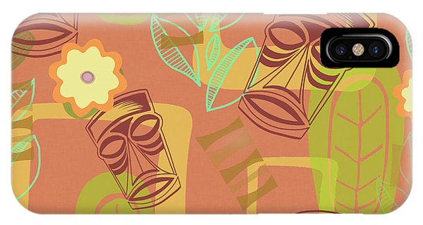 Atomic iPhone Case - Hour At The Tiki Room by Little Bunny Sunshine