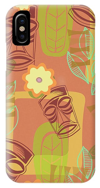 Vintage iPhone Case - Hour At The Tiki Room by Little Bunny Sunshine