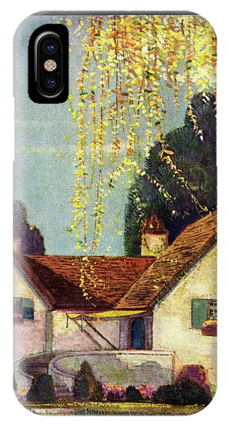 House And Garden Interior Decoration Number Cover IPhone Case