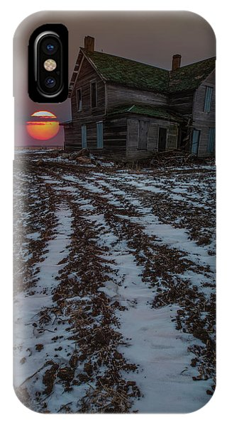 Abandoned Houses iPhone Case - House Of The Rising Sun by Aaron J Groen