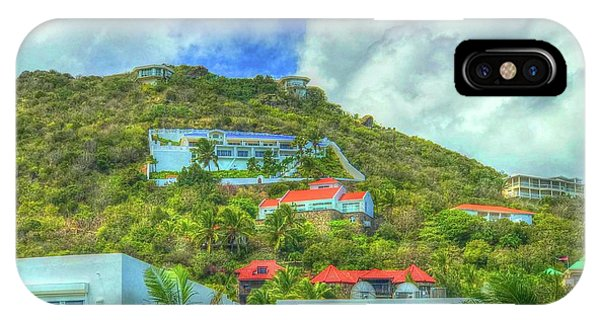St. Maarten iPhone Case - House On The Hill by Debbi Granruth