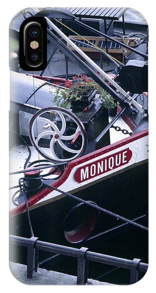 Houseboat In France IPhone Case