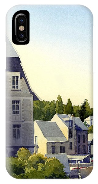 Houses At Murol IPhone Case