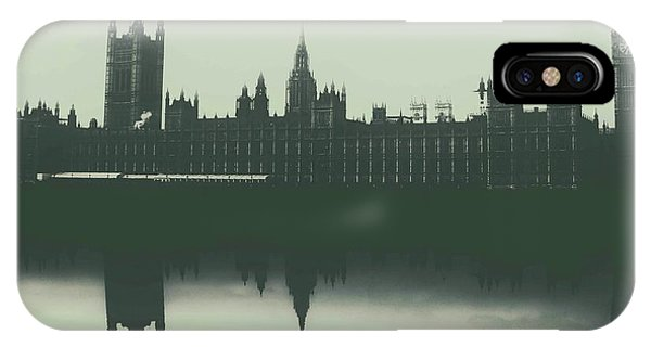 Canberra iPhone Case - Houses Of Parliament by Martin Newman