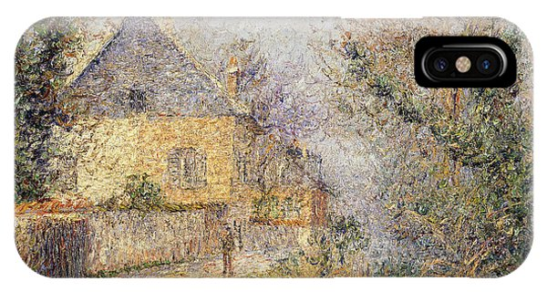 Normandy iPhone Case - Houses On The Banks Of The Eure by Gustave Loiseau