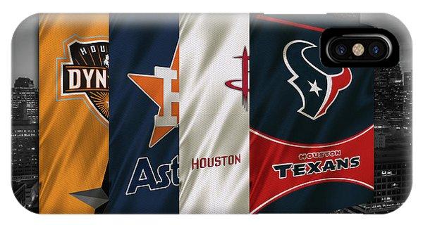 Houston Sports Teams 2 IPhone Case