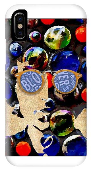 Harmonica iPhone Case - How Many Seas. Bob Dylan by Marvin Blaine 458c9517c