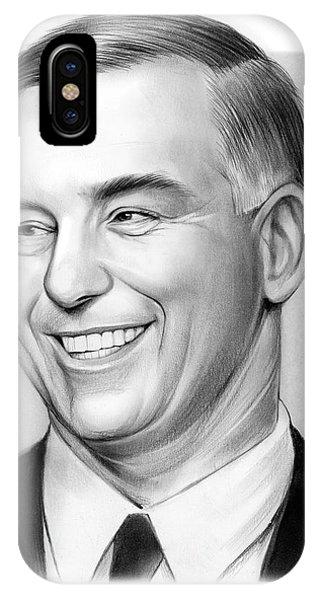 Howard Dean iPhone Case - Howard Dean by Greg Joens