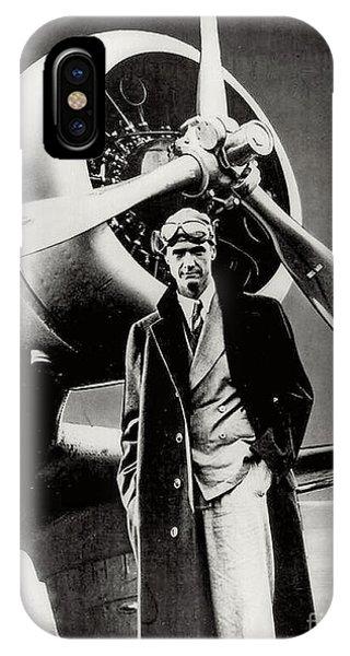 Howard Hughes - American Aviator  IPhone Case