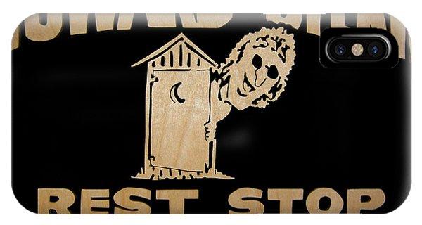 Howard Stern iPhone Case - Howard Stern Rest Stop by Michael Bergman