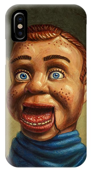Howdy Doody Dodged A Bullet IPhone Case