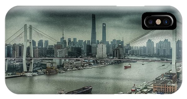 Huang Pu River Shanghai IPhone Case