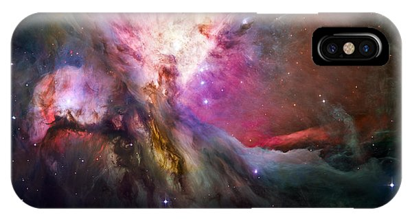 Space iPhone Case - Hubble's Sharpest View Of The Orion Nebula by Adam Romanowicz