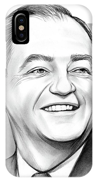 Minnesota iPhone Case - Hubert Humphrey by Greg Joens