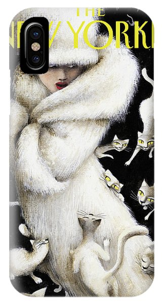 Huddling For Warmth IPhone Case