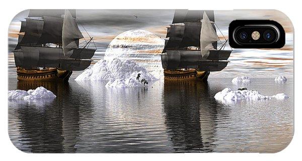Hudson Bay Ships IPhone Case