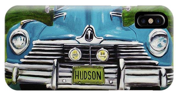 Hudson Blue IPhone Case