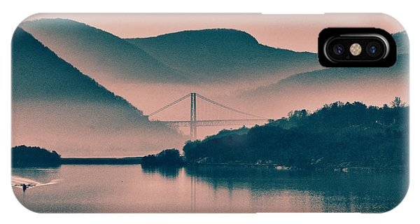 Hudson Highlands Fog IPhone Case