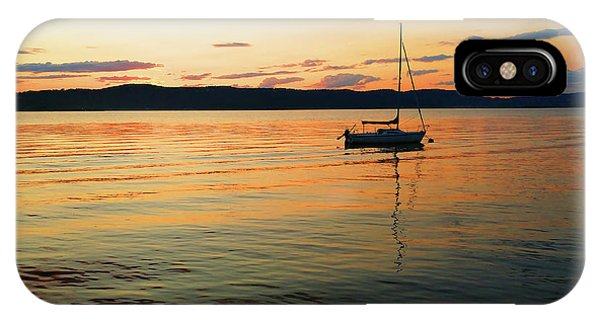 Hudson River From Irvington In Westchester County IPhone Case