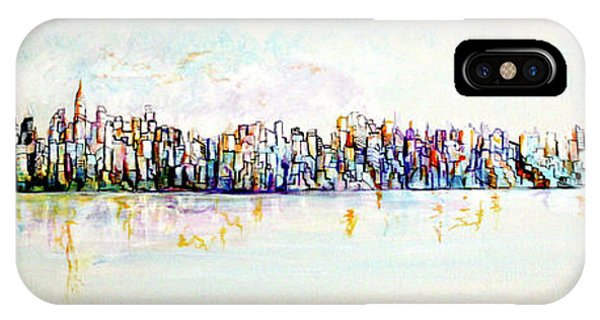 Hudson River View IPhone Case
