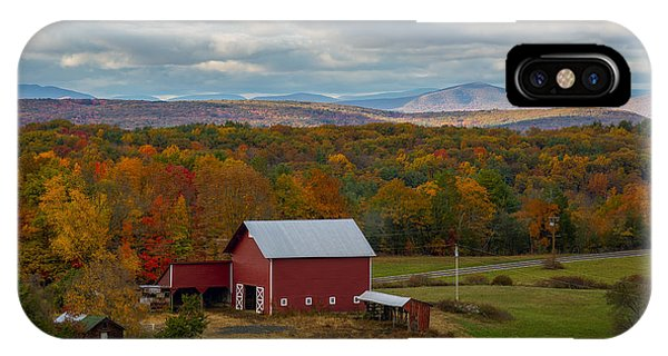 Hudson Valley Ny Fall Colors IPhone Case