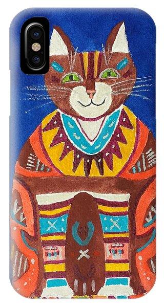 Huey Cat IPhone Case