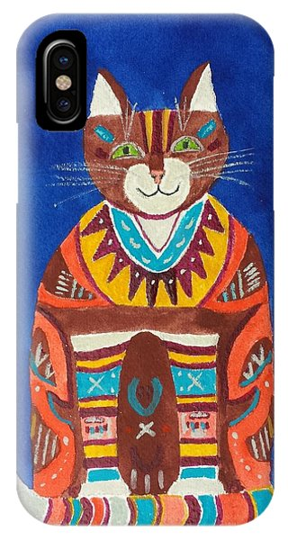 Huey Cat IPhone Case