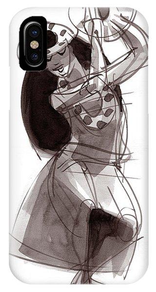 Hula Dancer Alika IPhone Case