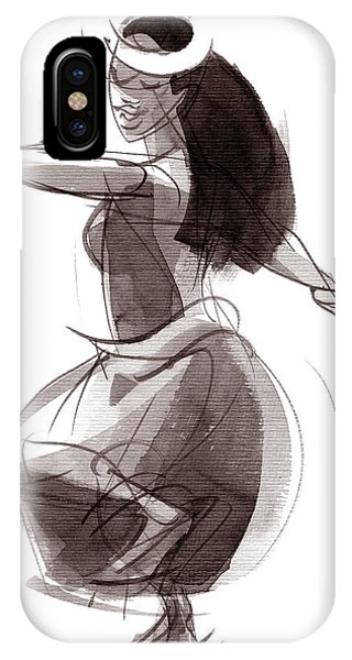 Hula Dancer Olina IPhone Case