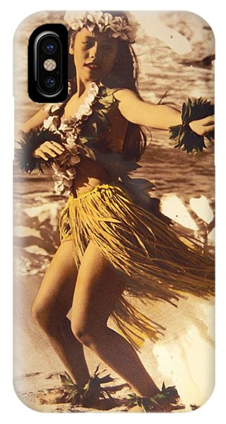 Hawaii iPhone Case - Hula On The Beach by Himani - Printscapes