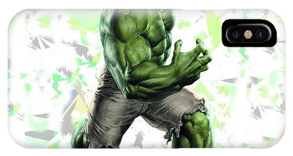 Hulk Splash Super Hero Series IPhone Case