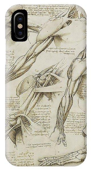 Human Arm Study IPhone Case