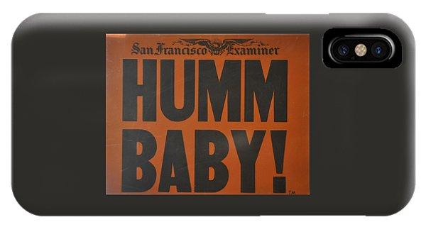 Humm Baby Examiner IPhone Case