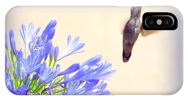 Hummer In Blue IPhone Case