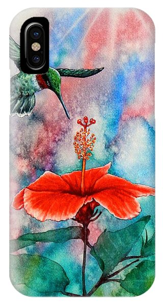 Humming Bird iPhone Case - Humming Bird #2 by John YATO