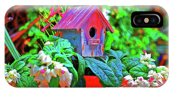 Humming Bird House IPhone Case