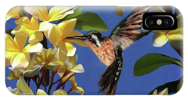 Hummingbird 01 IPhone Case